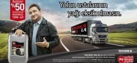 Petrol Ofisi MAXIMUS 10W-40: Yolun Ustalarının Yağı Eksik Olmasın!